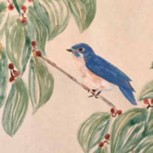 BlueBirdWallcoveringDetail
